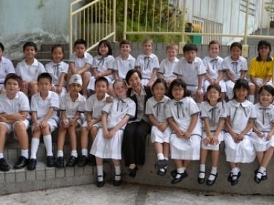 玫瑰崗小學部 梁校長專訪 Interview with Ms Leung, Principal of Primary Section